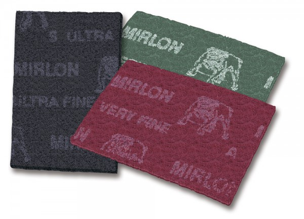 MIRLON Schleifvlies Handpads 152 x 229 mm
